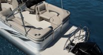 Aft Seating and Swim Deck