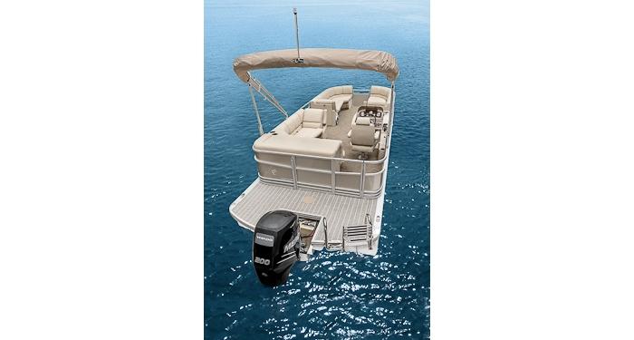 Cabana 240 Pontoon Boat Luxurious Pontoon Boats 2020
